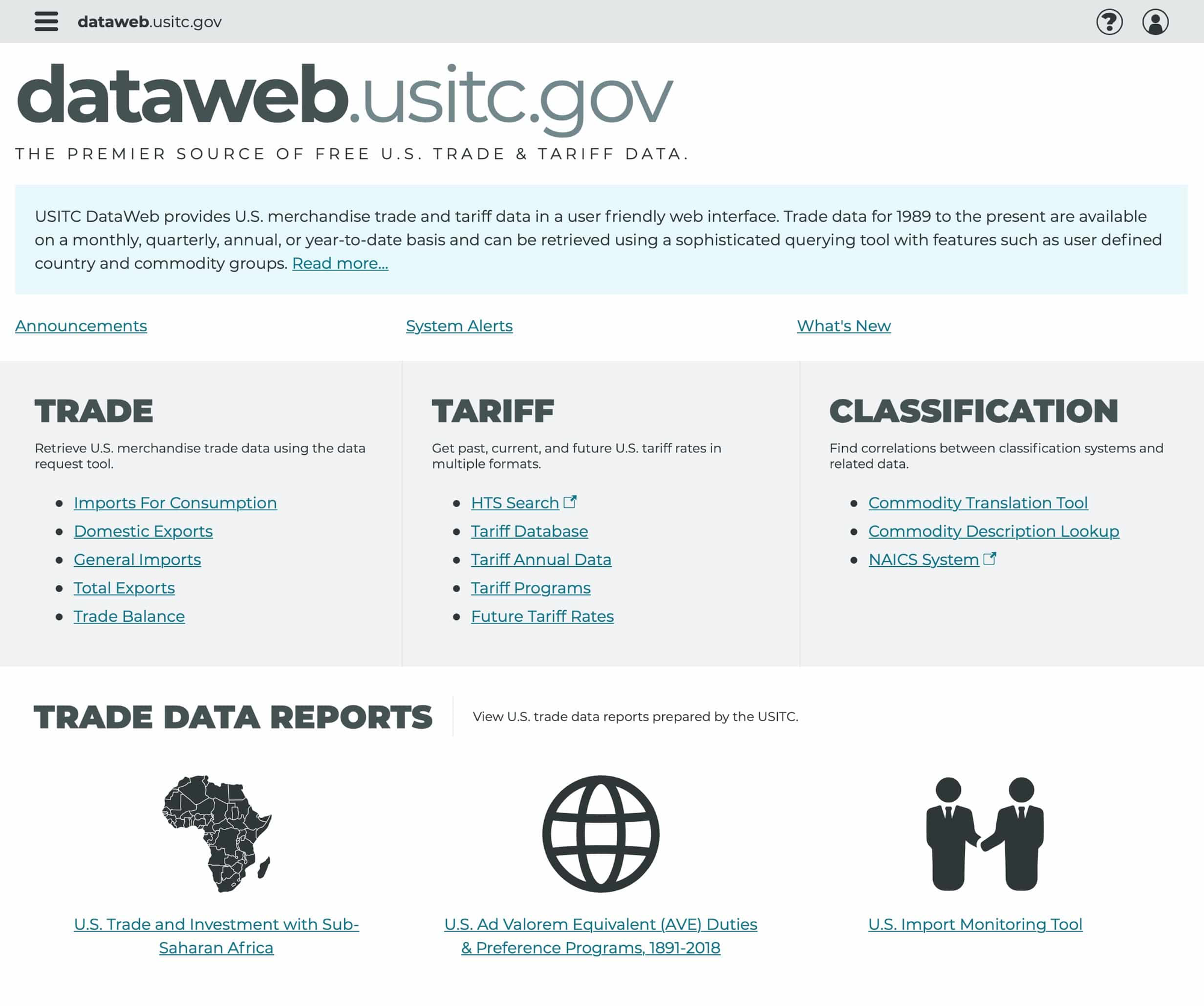 You could sift through all the data here, and spend hours in the process, or you could feed Jungle Scout an ASIN and go live the rest of your life. (dataweb.usitc.gov)